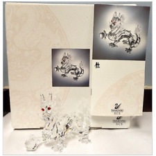 Swarovski Crystal Fabulous Creatures Dragon Scs 1997 208398 Limited Edition New