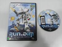 RUN=DIM RUN DIM COMANDOS DEL ESPACIO DVD + EXTRAS UNIVERSAL REGION 2