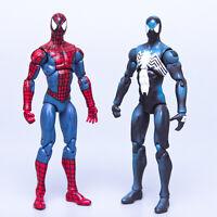 "Hasbro Marvel Universe 3.75"" SPIDERMAN & BLACK SUIT SPIDERMAN Figures | Free S&H"