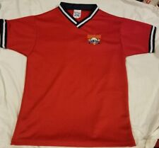 Cooperstown Youth Baseball Jersey Little Majors Red #4 Dreams Park Medium