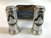 Aluminum Salt & Pepper Shakers Coronet Souvenir of Washington, DC The Capitol