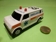 AMERICAN VAN GMC? FORD? - AMBULANCE EMERGENCY - 1:50? - VERY GOOD CONDITION