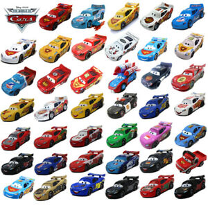 Pixar Cars Lot NO.95 Lightning McQueen 1:55 Diecast Model Choose Loose Kids Toys