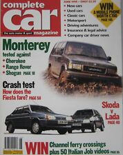 Complete Car 06/1994 featuring Riley, Range Rover, Jeep, Vauxhall, BMW, Mini
