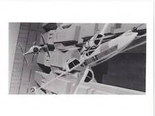 LOT 2: Four 1977 B&W Ralph McQuarrie 8 x 10 production art photos from STAR WARS