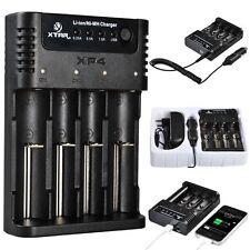 XTAR XP4 Ni-MH/Li-ion Charger for 10440 14500 14650 AAAA,AAA,A Battery US Plug