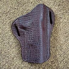 1911 HOLSTER. GENUINE SHARKSKIN FOR DECEMBER ONLY!! Hill Country Leather