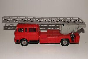 NOREV #97 1:43 BERLIET GBK18 ECHELLE MAGIRUS DL30H Fire Truck