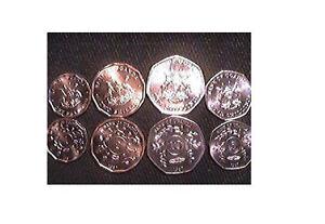 UGANDA 1987 4-PIECE UNCIRCULATED COIN SET, 1 TO 10 SHILLINGS