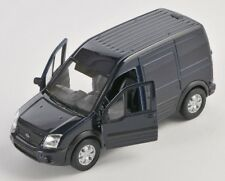 BLITZ VERSAND Ford Transit Connect Transporter dunkelblau Welly Modell 1:34 NEU