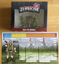 ZOMBICIDE ROSS THE MANAGER (JOHN GOODMAN - THE BIG LEBOWSKI) IN BOX W/ ID CARD
