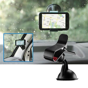 Car Mobile Phone Holder Universal 360°Rotating Mount Windscreen Dashboard