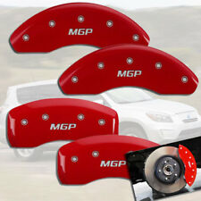 "2001-2006 Dodge Stratus Front + Rear Red ""MGP"" Brake Disc Caliper Covers"