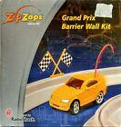 Zip Zaps Cars Race Track Grand Prix Barrier Wall Kit Radio Shack NEW open box