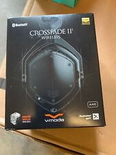 OB V-MODA Crossfade 2 Wireless Codex Edition with aptX and AAC - Matte Black