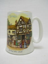 Vintage Wood and Sons Burslem England Beer Mug Stein-Old Coach House, Bristol