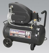 Sealey SAC5020E Compressor 50ltr Direct Drive 2hp EX Demo