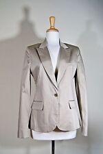 Paul & Joe Paris Blazer Suit 42 Women's Striped Cotton Blend
