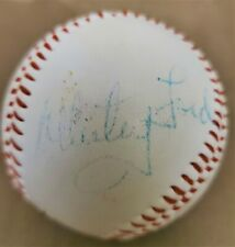 Official Whitey Ford Signed Autographed Baseball New York Yankees