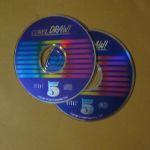Corel Draw 5 PC CD Graphics/Illustration Image/Photo CorelDraw Editor W95/98/2K