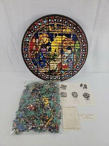 Vintage The Nativity Paolo Uccello 1966 Springbok Circular 500+ Pc Jigsaw Puzzle