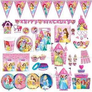 DISNEY PRINCESS Girls Birthday Party Tableware & Decoration Supplies Balloons