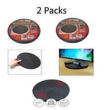 MULTIUSE ROTATING PLATFORM 250mm 360° BASE TV STAND TABLE CAKE 2 PACKS