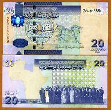 Libya, 20 Dinars, 2008 (2009), Pick 74, UNC