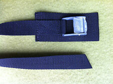25mm, 1mtr Bicycle Cam Buckle Strap-Protective Pad, Tie Down, Lashing, Roof Rack