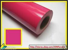 12x12 High Gloss PINK Vinyl Graphics Decal Sticker Sheet Film JDM Roll 30cm 10yr