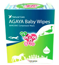 SAFE Compressed Baby Wipes Coin Type Wet Tissue 500pcs