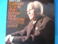 LP BEETHOVEN WILHELM BACKHAUS HANS SCHMIDT CONCERTO PER PIANOFORTE N° 5  OP. 73