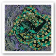 AFRICAN AMERICAN ART PRINT Divine Spirit Limited Edition Larry Poncho Brown