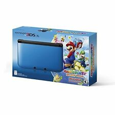Nintendo 3DS XL Blue/black Limited Edition With Mario Party: Island Tour 6Z