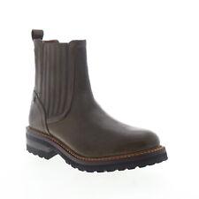 Frye Ella Moto Chelsea 70847 Womens Brown Leather Slip On Boots 6