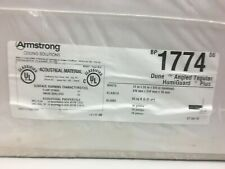 Armstrong 1774 Dune Ceiling Tile; 16 Pck 2' X 2' Angled Tegular Humiguard Plus