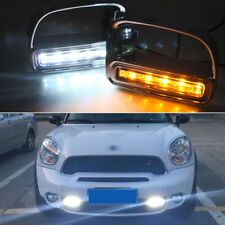 LED DRL Daytime Running Lights Turn Signal Light For 2011-2015 Mini Countryman
