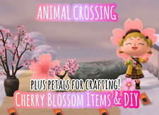 ACNH Cherry Blossom Package + FREE GIFT (Animal Crossing)