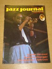 JAZZ JOURNAL INTERNATIONAL VOL 39 #3 1986 MARCH JON FADDIS CHARLIE VENTURA