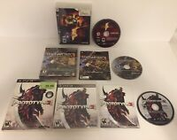 PS3 Lot of 3 Playstation 3 Games Prototype 2, Uncharted 3 & Resident Evil 5