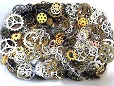 100g Pieces Lots Vintage Steampunk Wrist Watch Parts Gears Wheels Steam Punk Set