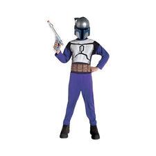 Star Wars Jango Fett Child Costume Size: Large 12-14 (Ages 8-10) New Rubie's