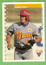 1995 AUSTRALIAN BASEBALL CARD #83  DARREN  WHITE,  ADELAIDE  GIANTS