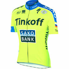 Castelli/Sportful Tinkoff Saxo Bank Cycling Jersey : Size M-XL - LOWEST PRICE