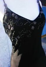 New Sue Wong Sequin Beaded Rayon Silk Formal Evening Dress size 6 ,party dress