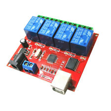 5v 4 Channel Driver Free Usb Control Switch Relay Module For Computer