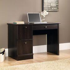Computer Office Desk Wood Table Home Workstation Laptop Pc Study Cinnamon Cherry