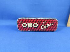 """VINTAGE """"OXO"""" IN CUBES TIN"""