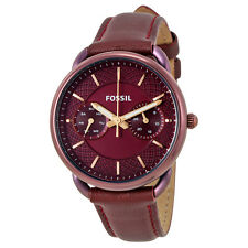 Fossil Tailor Multifunction Bordeaux Dial Ladies Watch ES4121