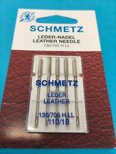 Nähmaschinen Nadeln Schmetz Leder Nadeln 110/18 Flachkolben Nadeln